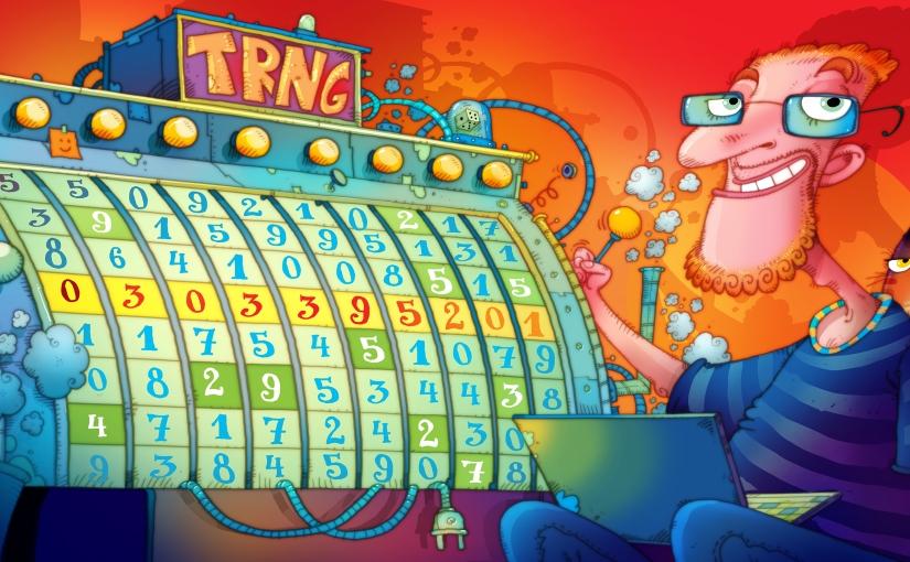 True Random Number Generator for a TrueHacker